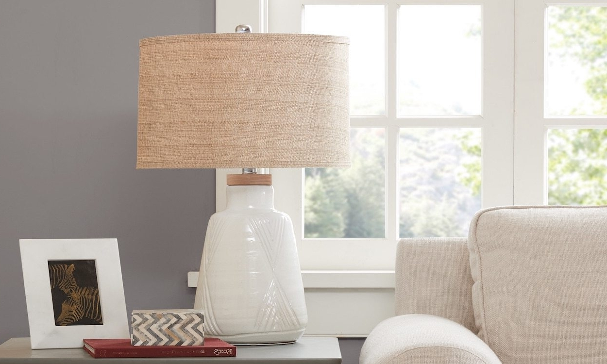 Best Lamp Shades For Your Table Lamp – Overstock Pertaining To Newest Overstock Living Room Table Lamps (View 2 of 15)