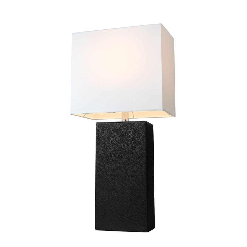 Black Living Room Table Lamps Inside Most Up To Date Elegant Designs Monaco Avenue 21 In (View 8 of 15)