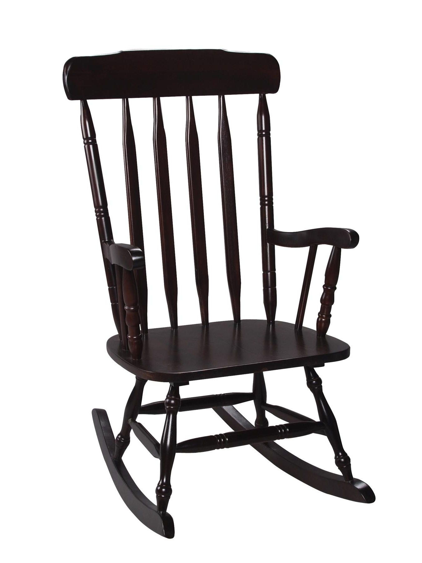 Black Rocking Chairs Intended For Most Current Surprising Black Rocking Chair On Famous Chair Designs With (View 2 of 15)
