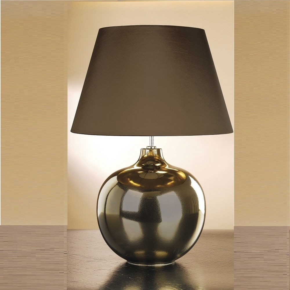 Bronze Living Room Table Lamps In Latest Unique Bronze Table Lamps — Eflyg Beds : Beautiful Bronze Table (View 6 of 15)