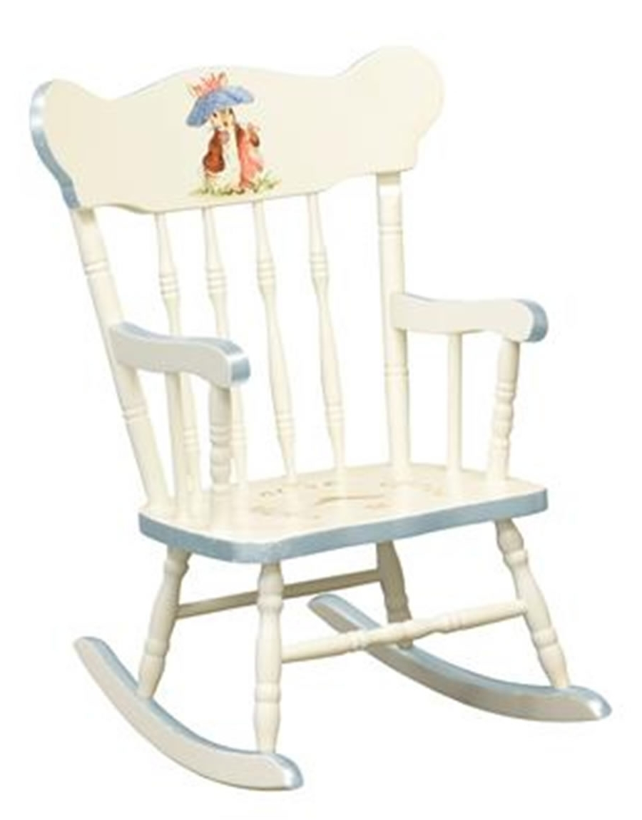 Brown Childs Rocking Chair — Wilson Home Ideas : Childs Rocking Regarding Most Current Rocking Chairs For Toddlers (View 4 of 15)