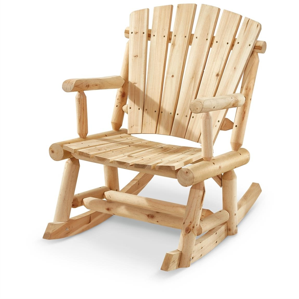 Castlecreek Oversized Adirondack Rocker – 657797, Patio Furniture At Regarding Latest Oversized Patio Rocking Chairs (View 4 of 15)