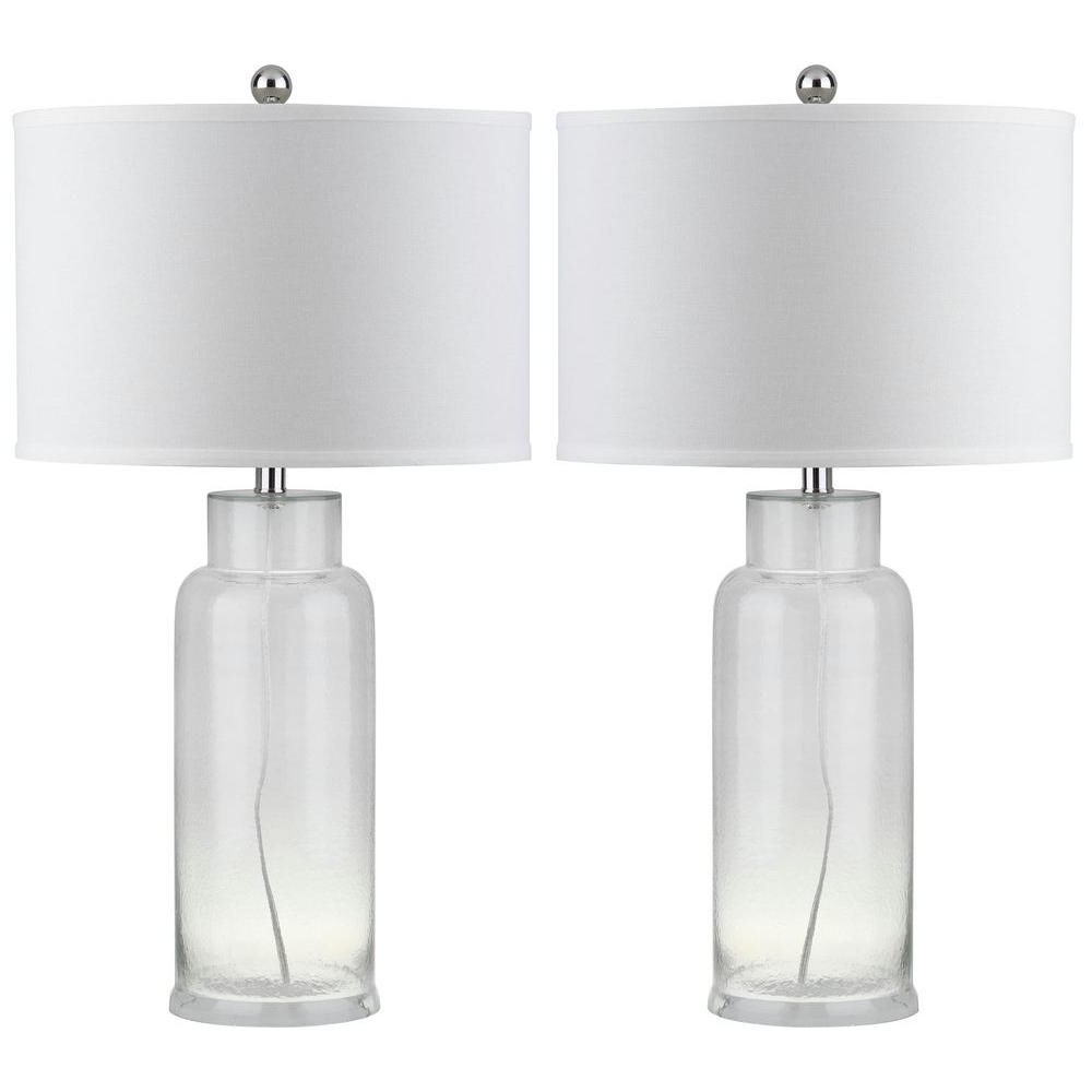 Clear Pertaining To Clear Table Lamps For Living Room (View 14 of 15)