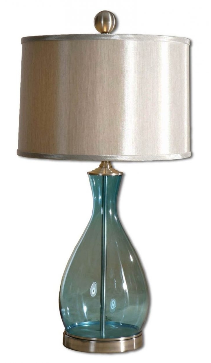 Clear Table Lamps For Living Room For Current Bedside Lamps: Clear Glass Table Lamps For Living Room (View 10 of 15)