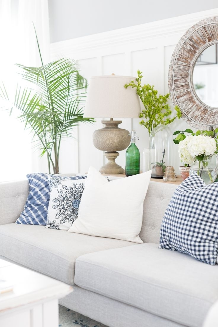 Coastal Living Room Table Lamps Inside Most Current Coastal Living Room Furniture Decor Beach Summer Paint Color (View 13 of 15)