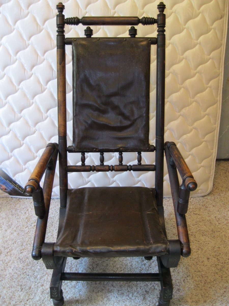 Collectors Weekly Intended For Antique Rocking Chairs (View 6 of 15)