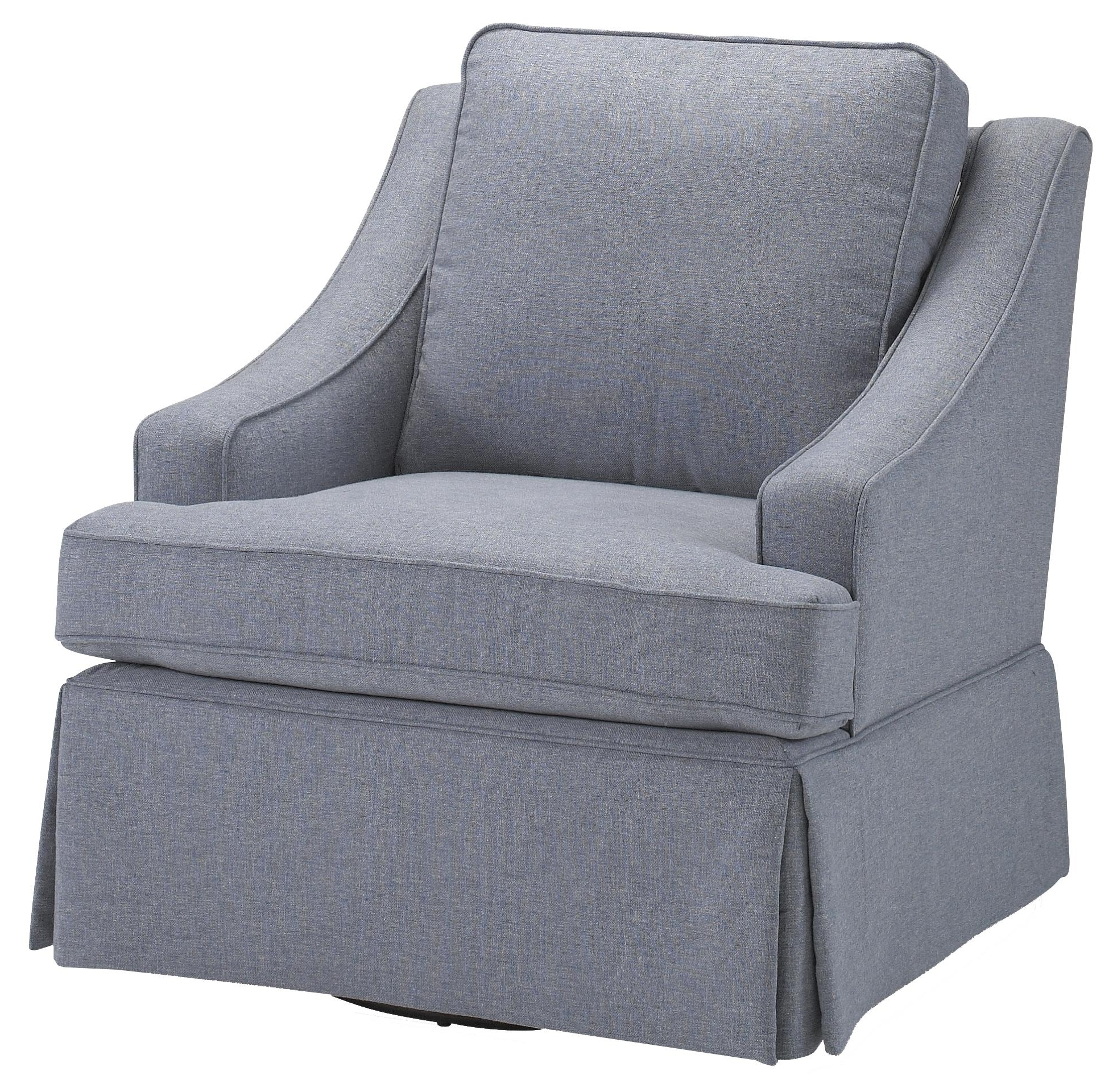 Contemporary Ayla Swivel Rocker Chairbest Home Furnishings Inside Most Up To Date Swivel Rocking Chairs (View 3 of 15)
