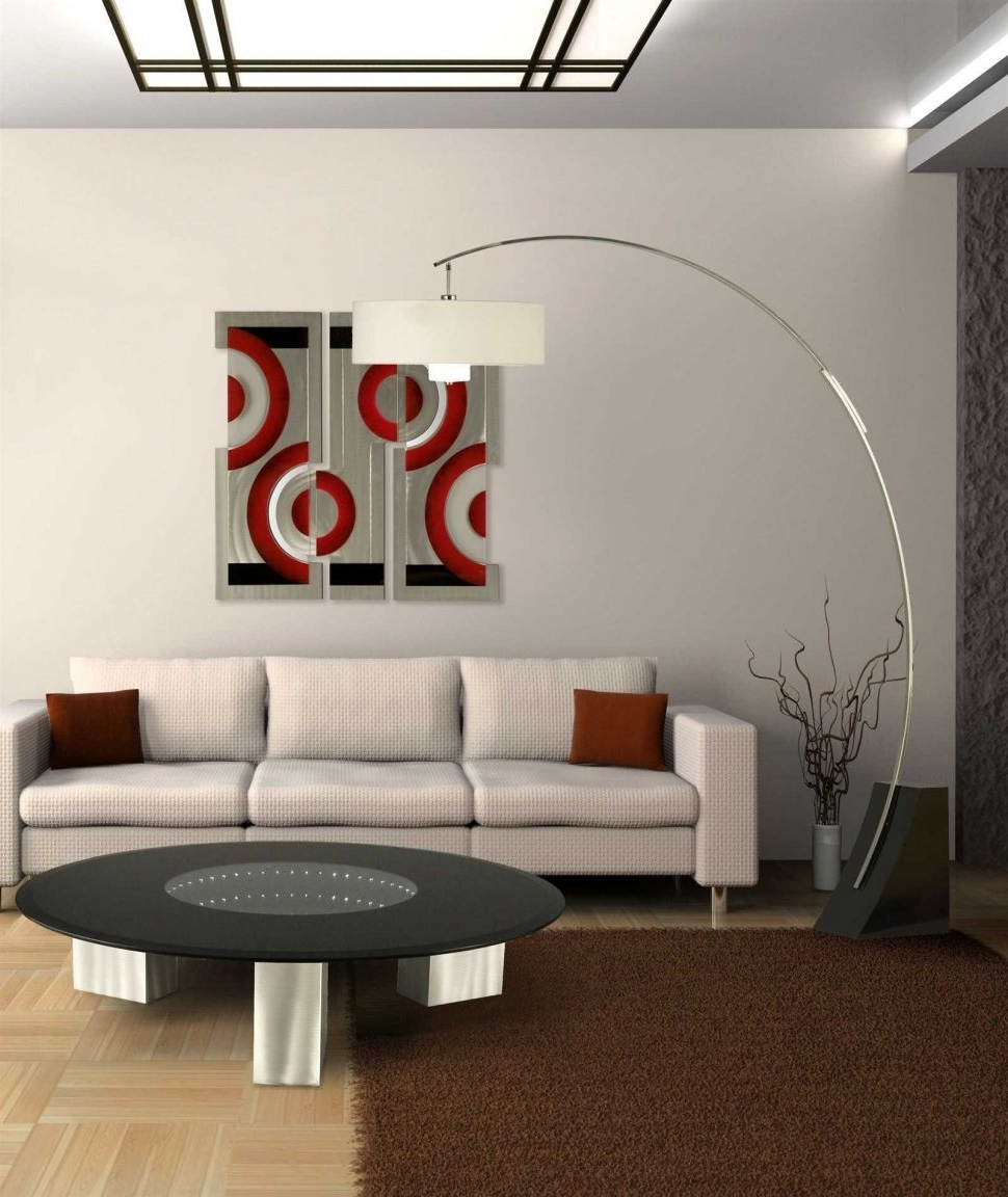 Contemporary Living Room Table Lamps For Trendy Living Room : Paper Floor Lamp Floor Lamps Home Depot Stand Up Lamps (View 2 of 15)
