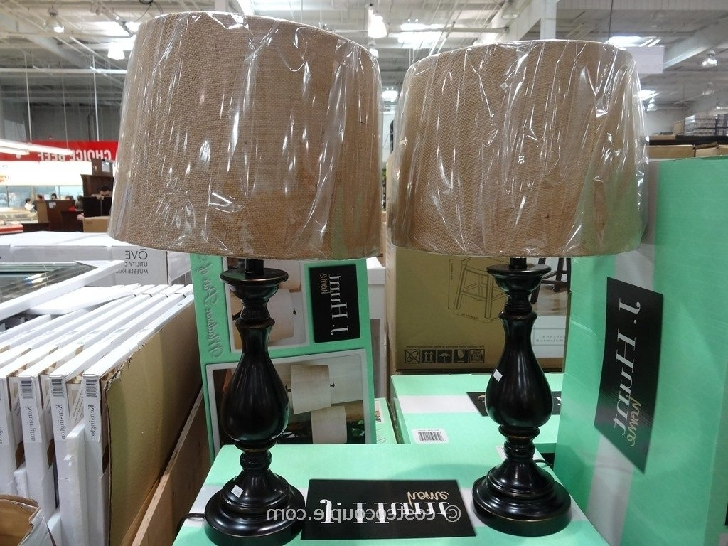 Costco Living Room Table Lamps With Regard To Most Popular Table Lamps: J Hunt Madison Table Lamp Set Throughout Costco Table (View 2 of 15)