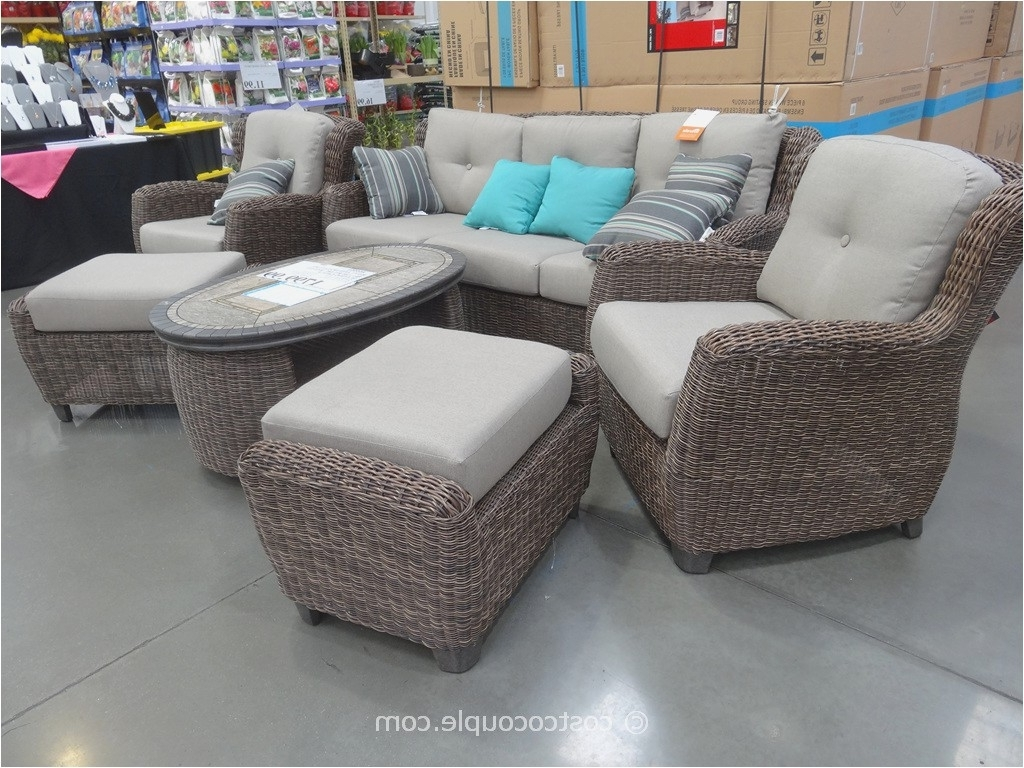 Costco Patio Conversation Sets Throughout 2017 Costco Patio Chairs In 2018 Kirkland Patio Furniture Furniture Ideas (View 2 of 15)