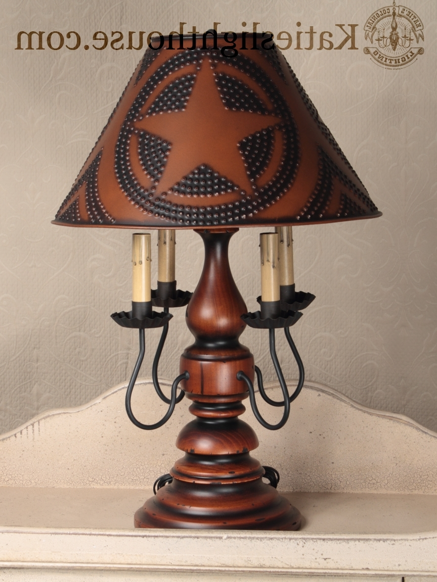 Country Table Lamps Living Room Elegant Primitive Lighting – Living Throughout Most Recent Primitive Living Room Table Lamps (View 3 of 15)