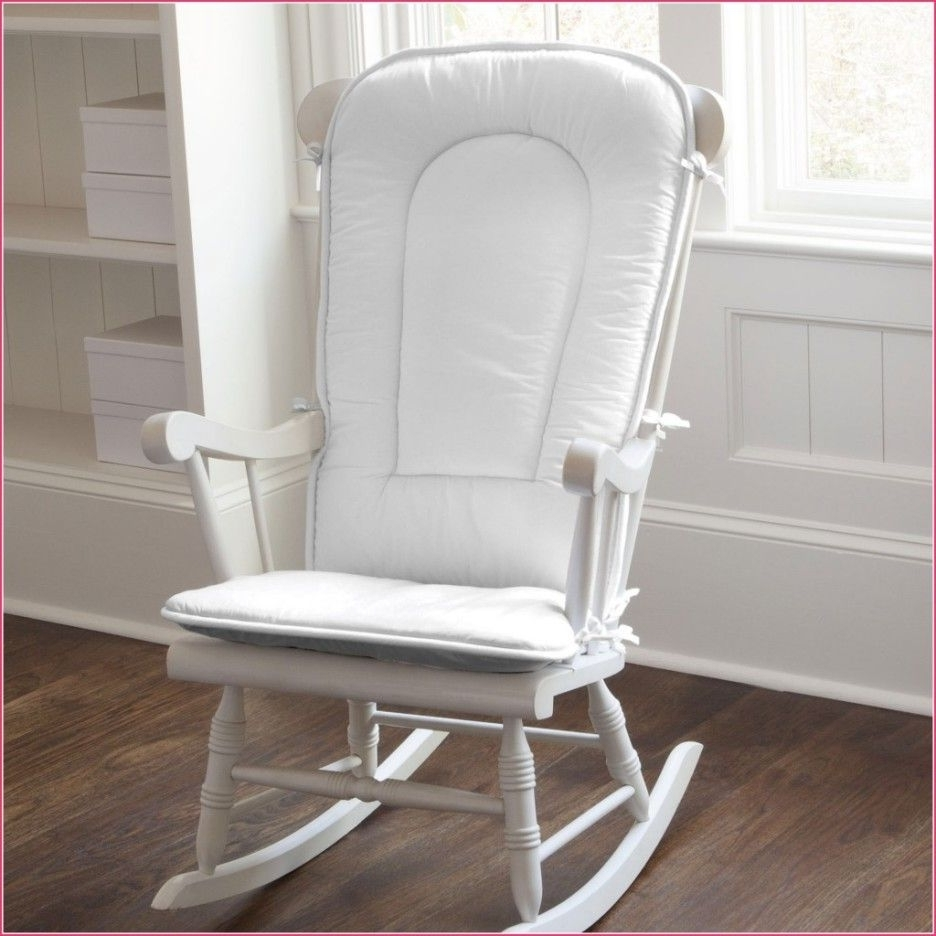 Cracker Barrel Rocking Chair Seat Cushions Baby Nursery Pads Amazon Within Well Known Xl Rocking Chairs (View 6 of 15)