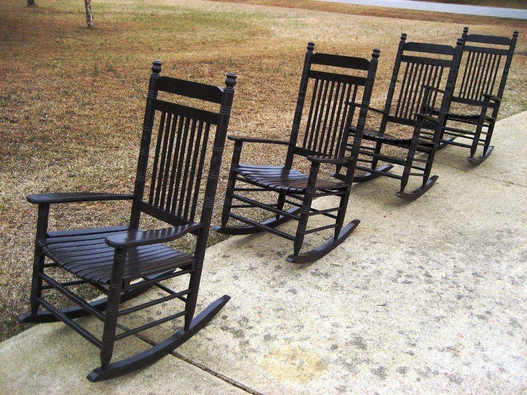 Cracker Barrel Rocking Chairs Porch — Jayne Atkinson Homesjayne Regarding Well Known Rocking Chairs At Cracker Barrel (View 6 of 15)