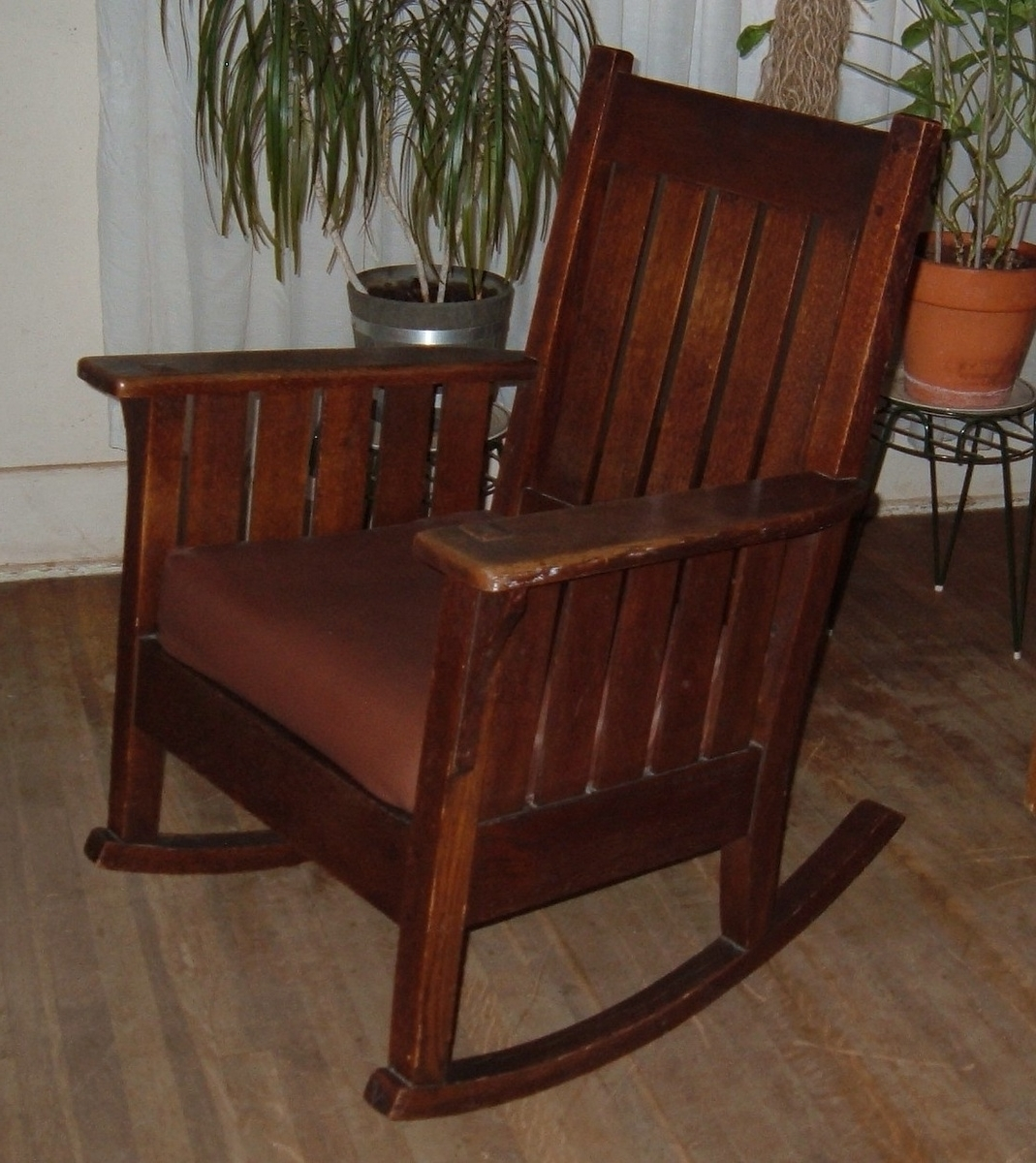 Current Old Fashioned Rocking Chairs Intended For Mission Rocking Chair Collectors Weekly Antique Chairs 1800S M2Jk (View 2 of 15)