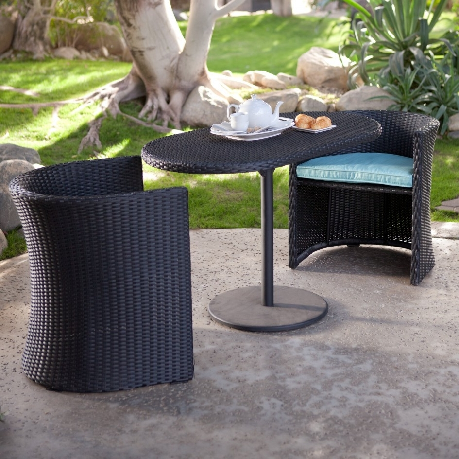 Current Small Patio Conversation Sets Regarding Outdoor Dining Sets For Small Spaces – Outdoor Designs (View 5 of 15)