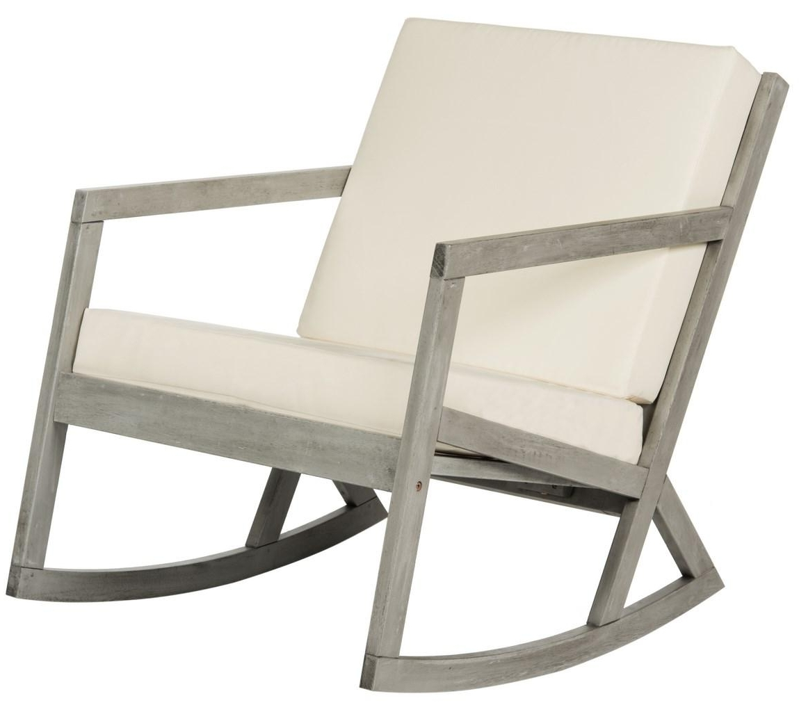 Cushioned Rocking Chair (View 7 of 15)