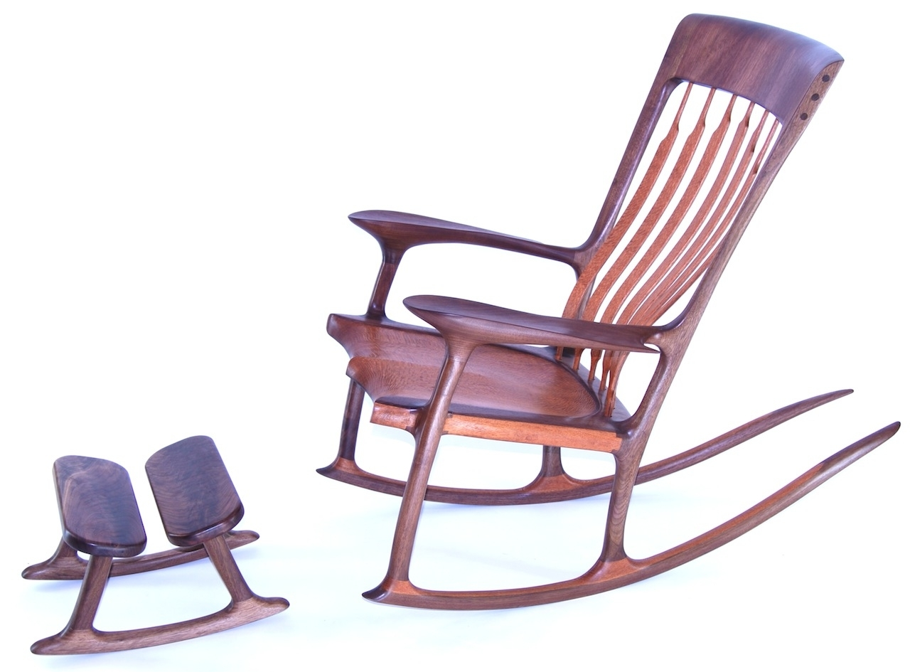 Featured Photo of Rocking Chairs With Footstool