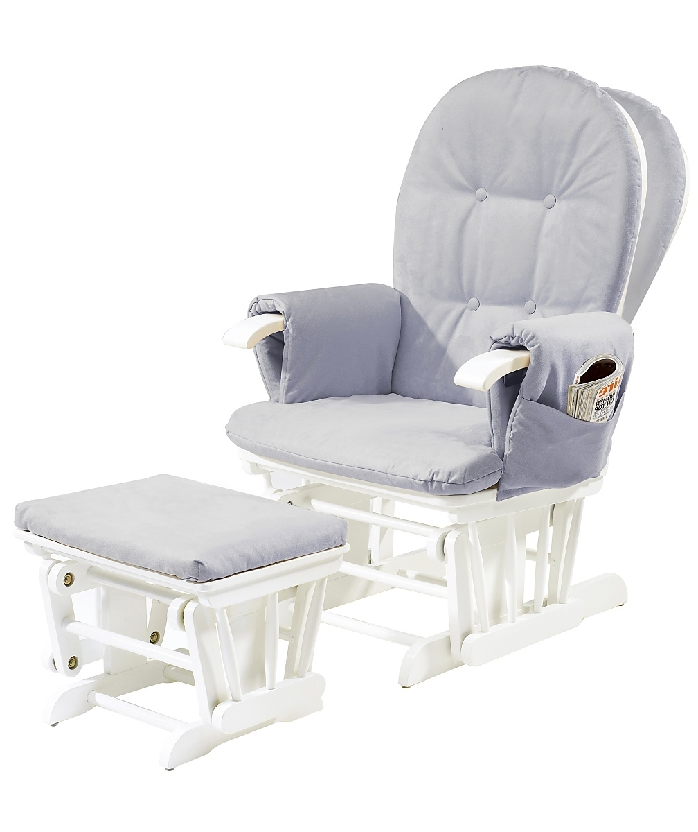 Denmondivorce Pertaining To White Wicker Rocking Chair For Nursery (View 14 of 15)