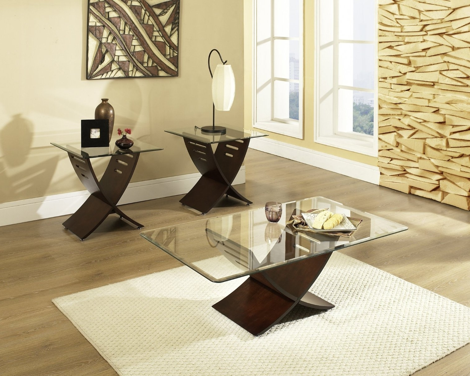 Designs Ideas & Decors For With Regard To Newest Glass Living Room Table Lamps (View 11 of 15)