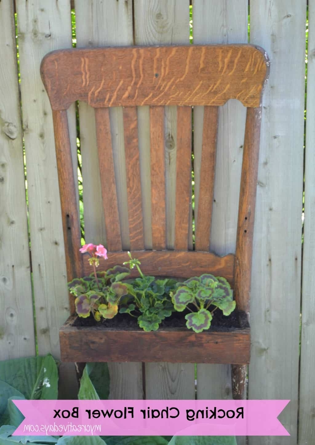 Diy Rocking Chair Upcycle Tutorial – My Creative Days In Most Recent Upcycled Rocking Chairs (View 3 of 15)