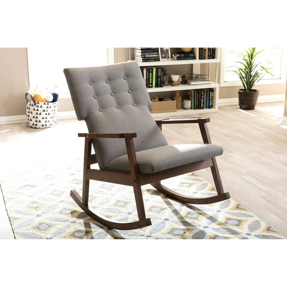 Extraordinary Furniture Polywood Rocking Chairs In White