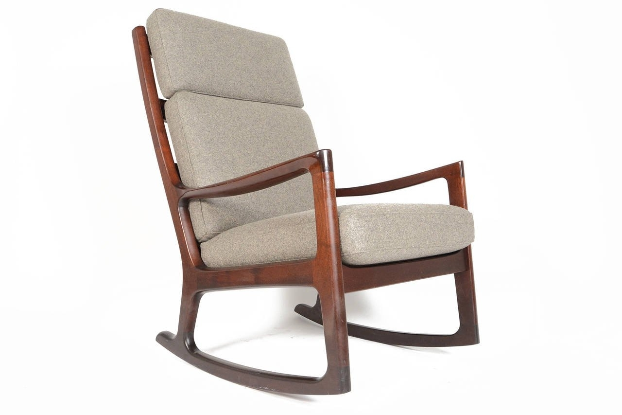 Fabulous High Back Rocking Chair About Remodel Quality Furniture With Regard To Favorite High Back Rocking Chairs (View 6 of 15)
