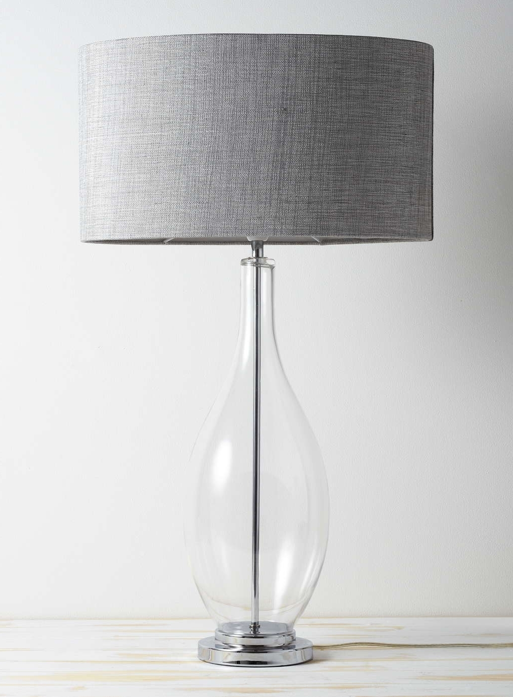 Fabulous Tall Glass Table Lamp 6 Astonishing Lamps U Design Pretty Throughout Most Current Tall Table Lamps For Living Room (View 7 of 15)