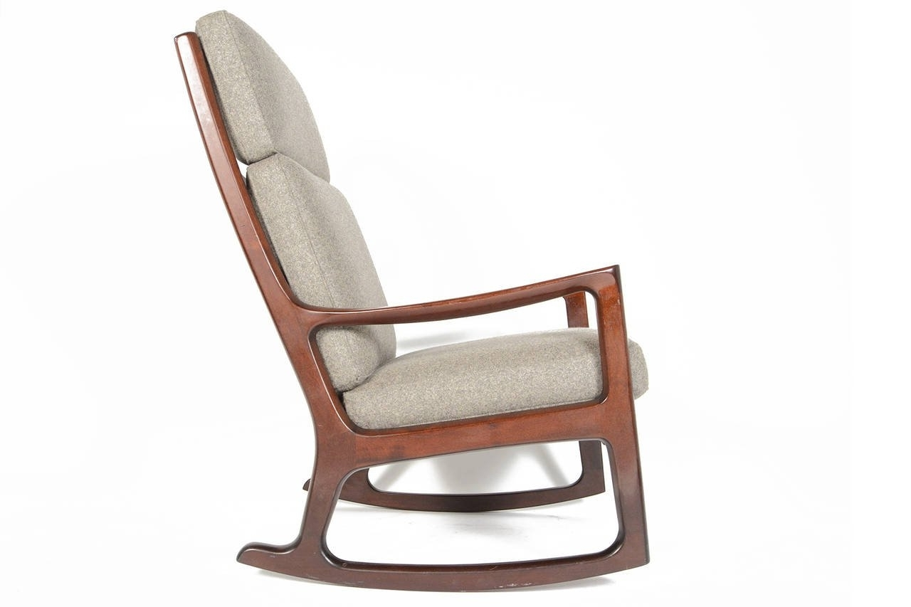 Famous High Back Rocking Chair D20 About Remodel Wonderful Small Home Inside High Back Rocking Chairs (View 5 of 15)
