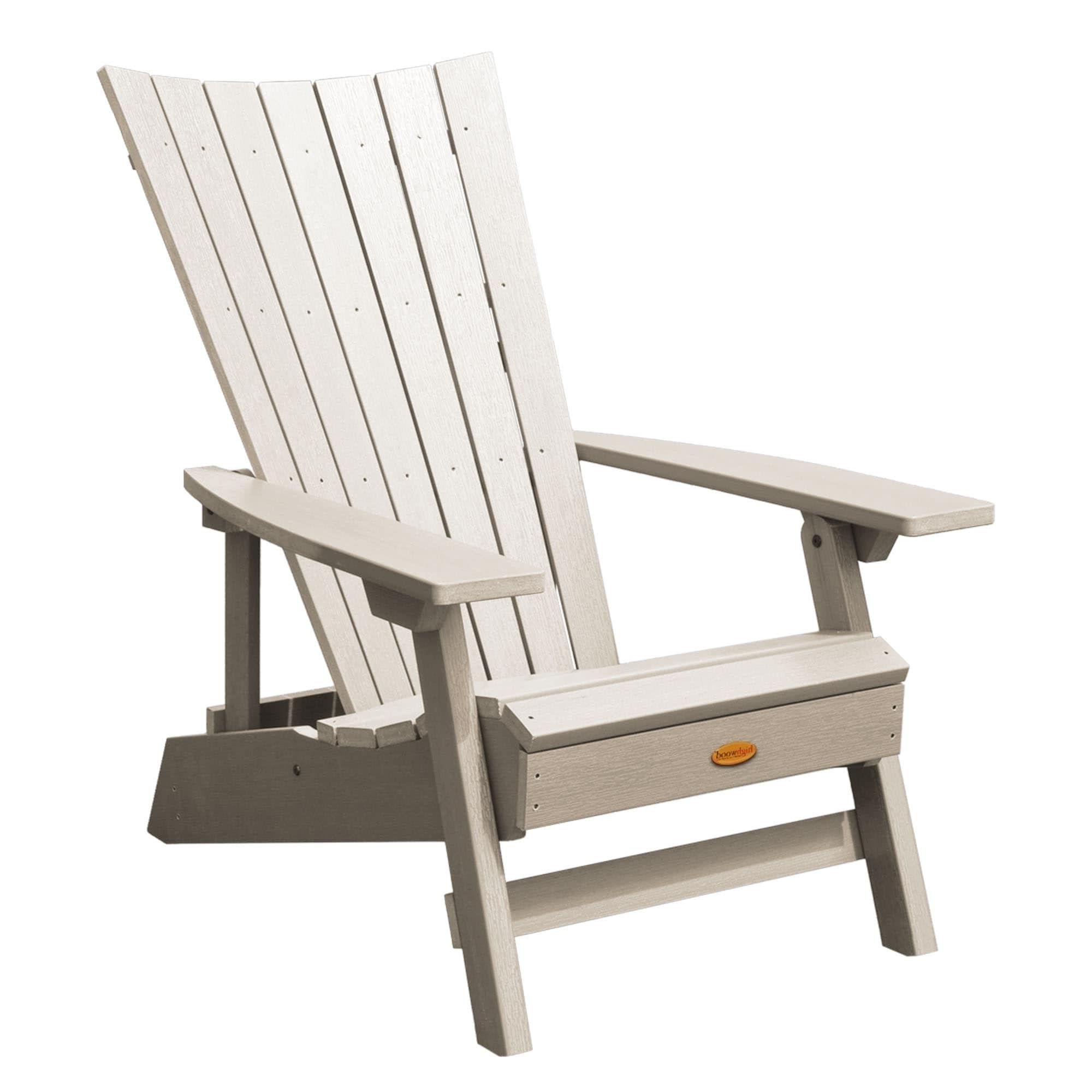 Famous Highwood Manhattan Beach Adirondack Chair (Black), Size Single With Manhattan Patio Grey Rocking Chairs (View 4 of 15)