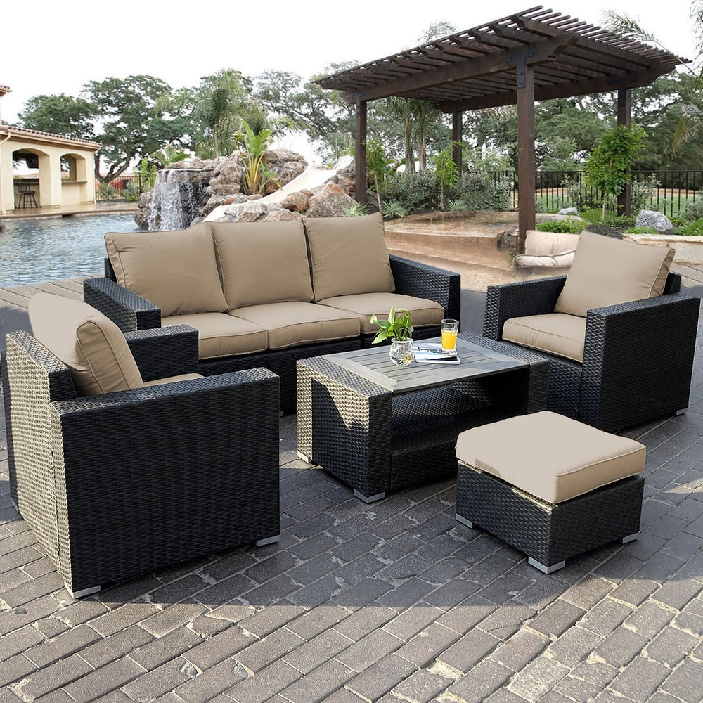 Famous Patio Sofa Set S L1000 Awful Pictures Ideas Outdoor Ebay Sectional Inside Ebay Patio Conversation Sets (View 4 of 15)