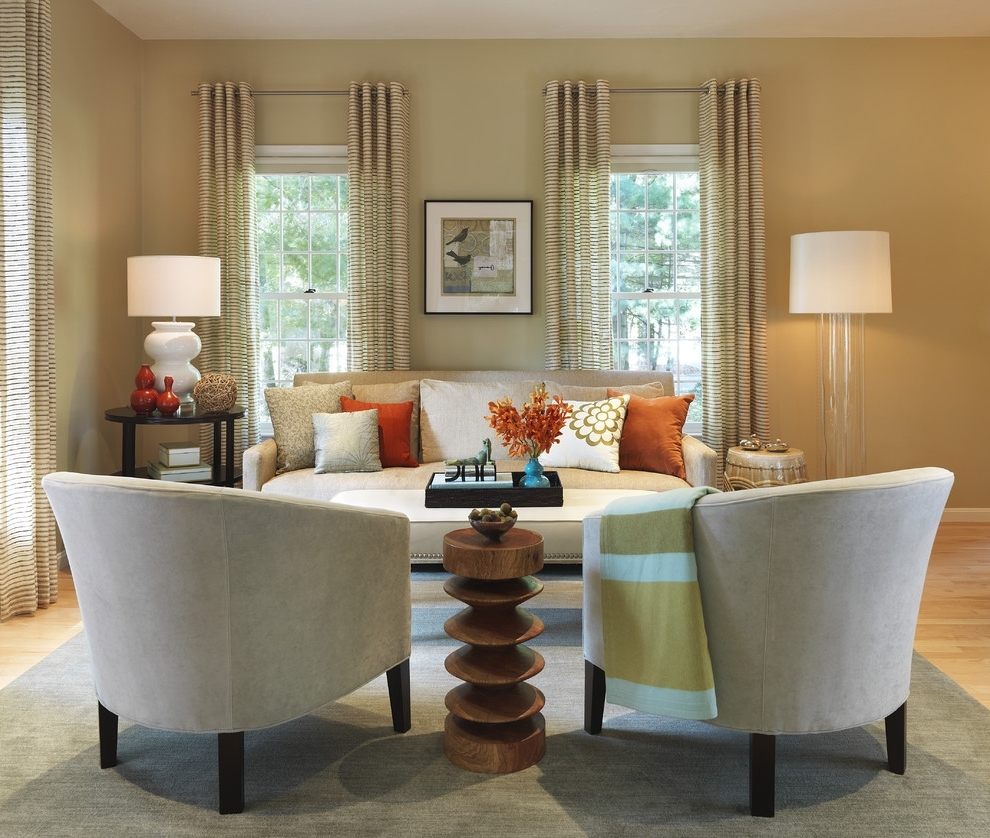 Famous Table Lamps For Living Room Living Room Transitional With Printed Inside Transitional Living Room Table Lamps (View 2 of 15)