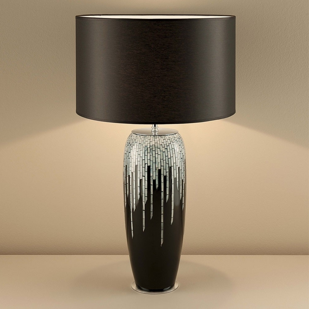 Fashionable Black Living Room Table Lamps In Living Room Contemporary Table Lamps Living Room Design With (View 6 of 15)