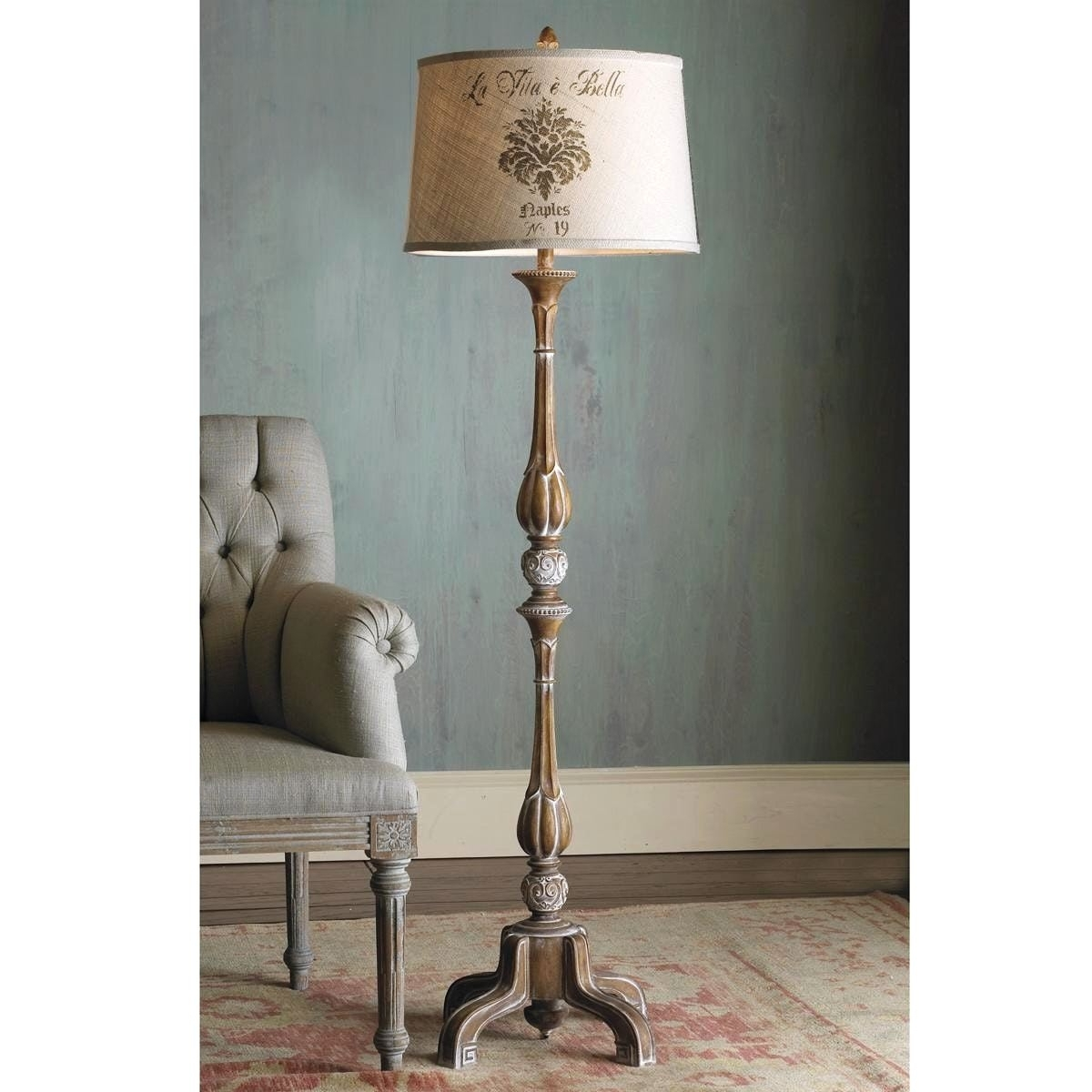 Fashionable Country Style Table Lamps Living Room With 62 French Provincial Throughout Country Style Living Room Table Lamps (View 8 of 15)