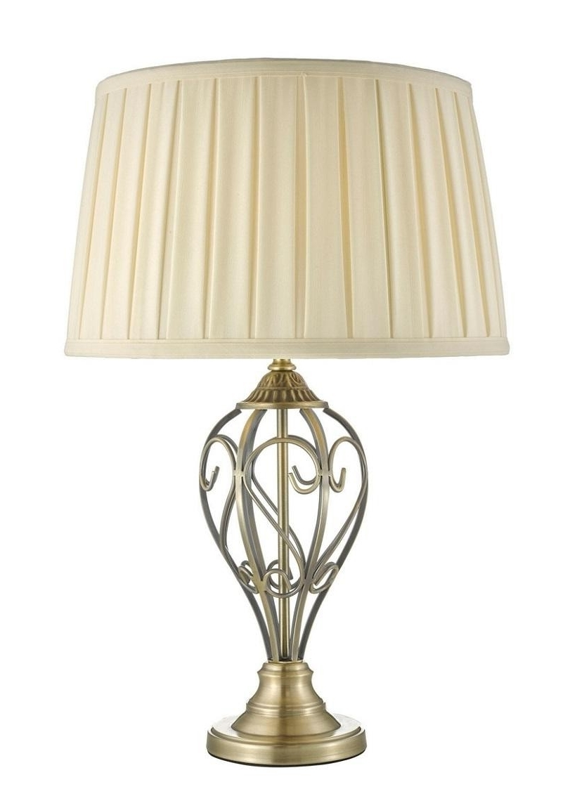Fashionable Debenhams Table Lamps For Living Room With Regard To Debenhams Home Collection 'eden' Table Lamp (View 6 of 15)