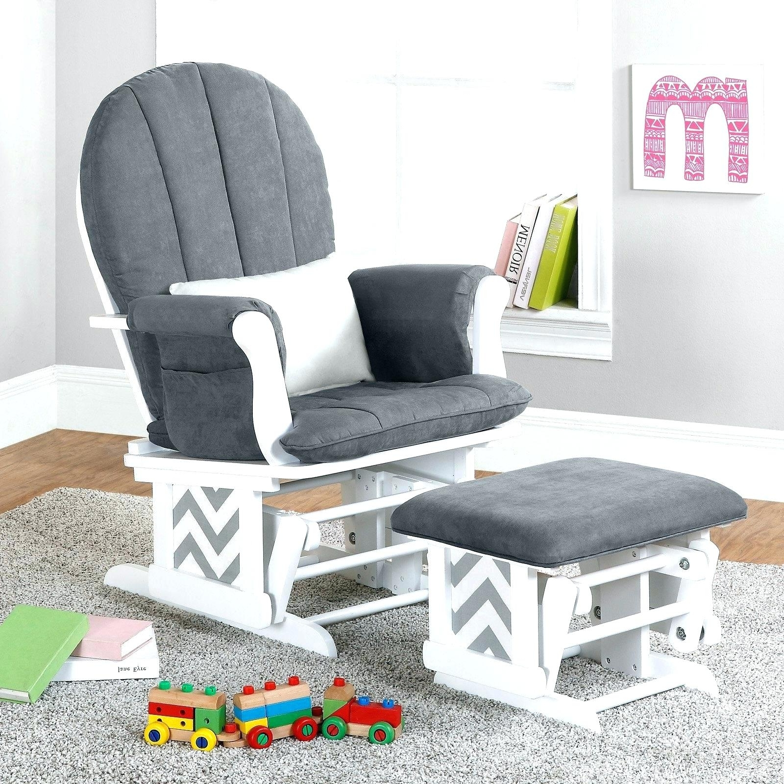 Fashionable Ottomans : Baby Room Rocker Recliner Glider Chair With Ottoman Sale Throughout Rocking Chairs For Baby Room (View 4 of 15)