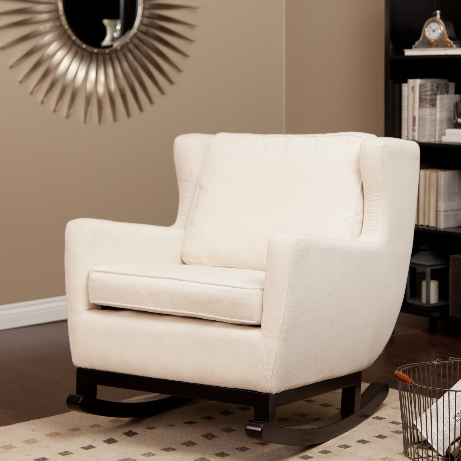 Fashionable Rocking Chairs For Living Room Regarding Livingroom : Winsome Rocking Chair At Modern Interior Chairs (View 4 of 15)
