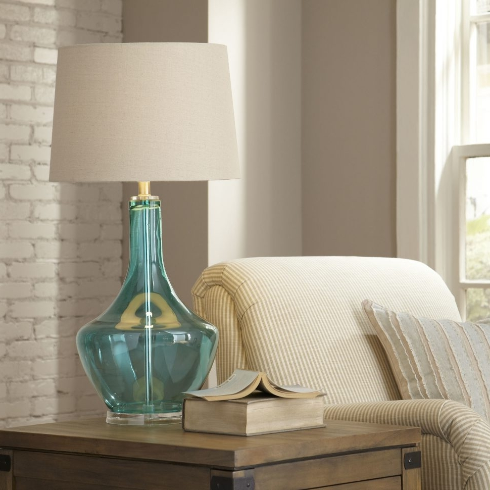 Favorite Coastal Living Room Table Lamps For Lamp : Lamp Coastal Floor Lamps Log Cabin Cottage Beach Style (View 9 of 15)