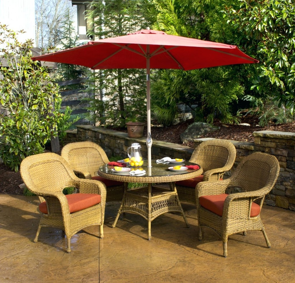 Favorite Patio Conversation Sets With Umbrella With Regard To Patio Ideas ~ Small Patio Table Sets Small Patio Furniture Sets (View 5 of 15)