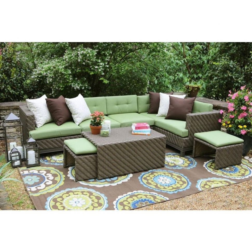 Favorite Patio : Sunbrella Fabric Patio Conversation Sets Outdoor Lounge Regarding Patio Conversation Sets With Sunbrella Cushions (View 4 of 15)