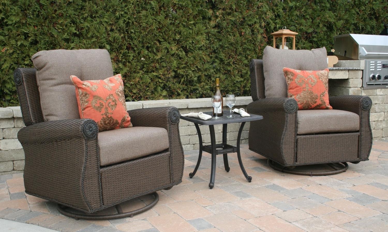 Favorite Wicker Patio Furniture Plain Furniture Wicker Patio Furniture Sets With Deep Seating Patio Conversation Sets (View 11 of 15)