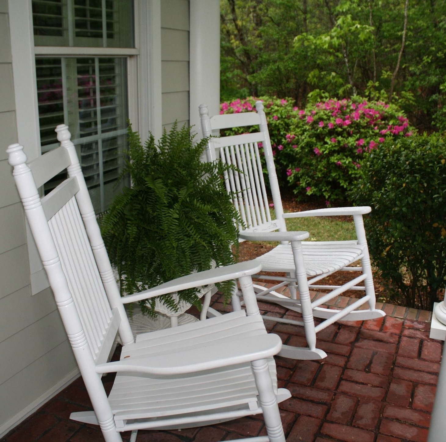 For Within Rocking Chairs For Front Porch (View 3 of 15)