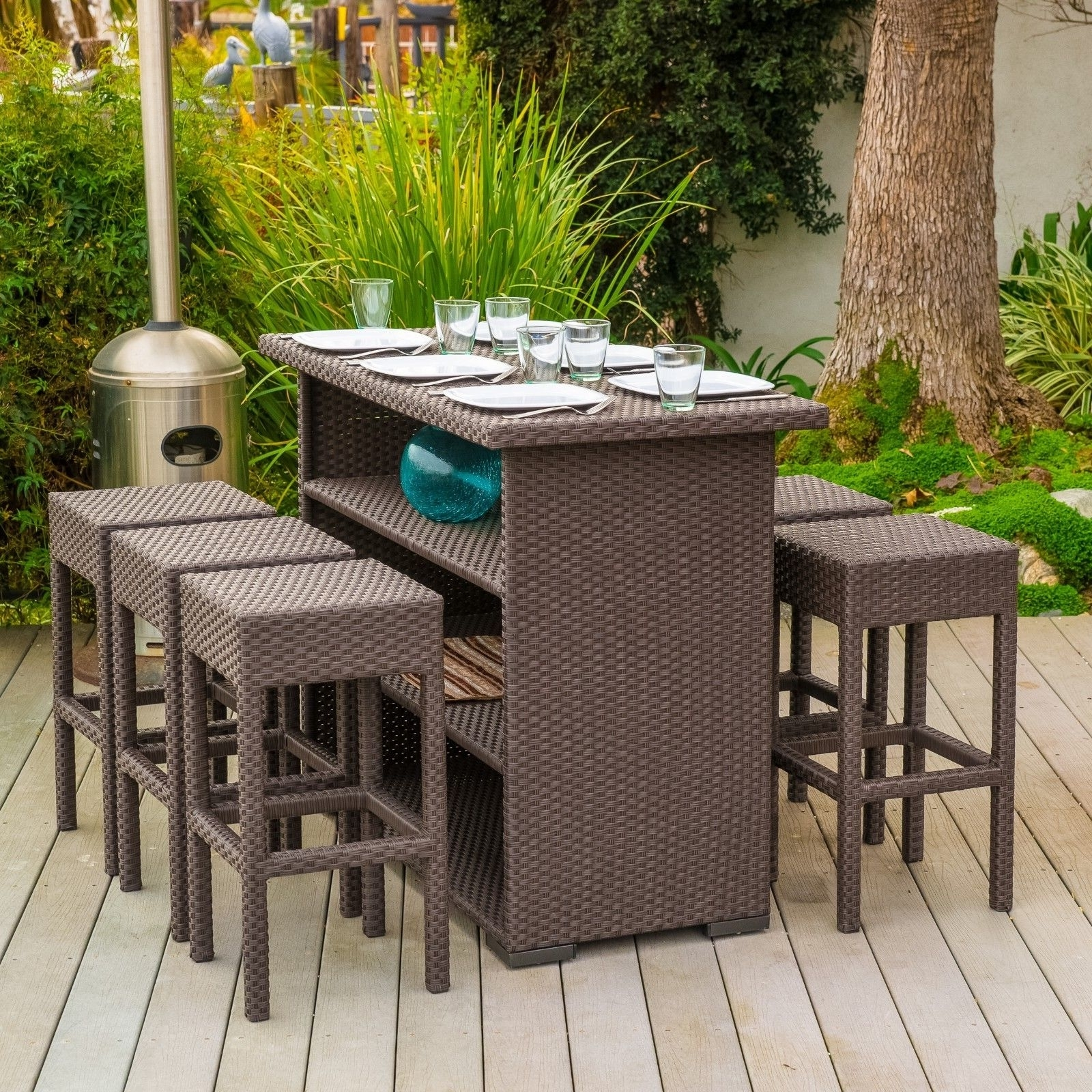 Furniture: Captivating Ebay Patio Furniture For Outdoor Furniture With Regard To Most Recently Released Ebay Patio Conversation Sets (View 10 of 15)