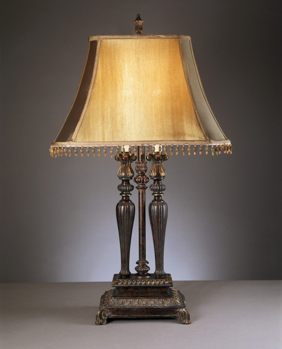 Furniture : Traditional Desk Lamps Lighting And Ceiling Fans For With Regard To 2017 Traditional Table Lamps For Living Room (View 6 of 15)