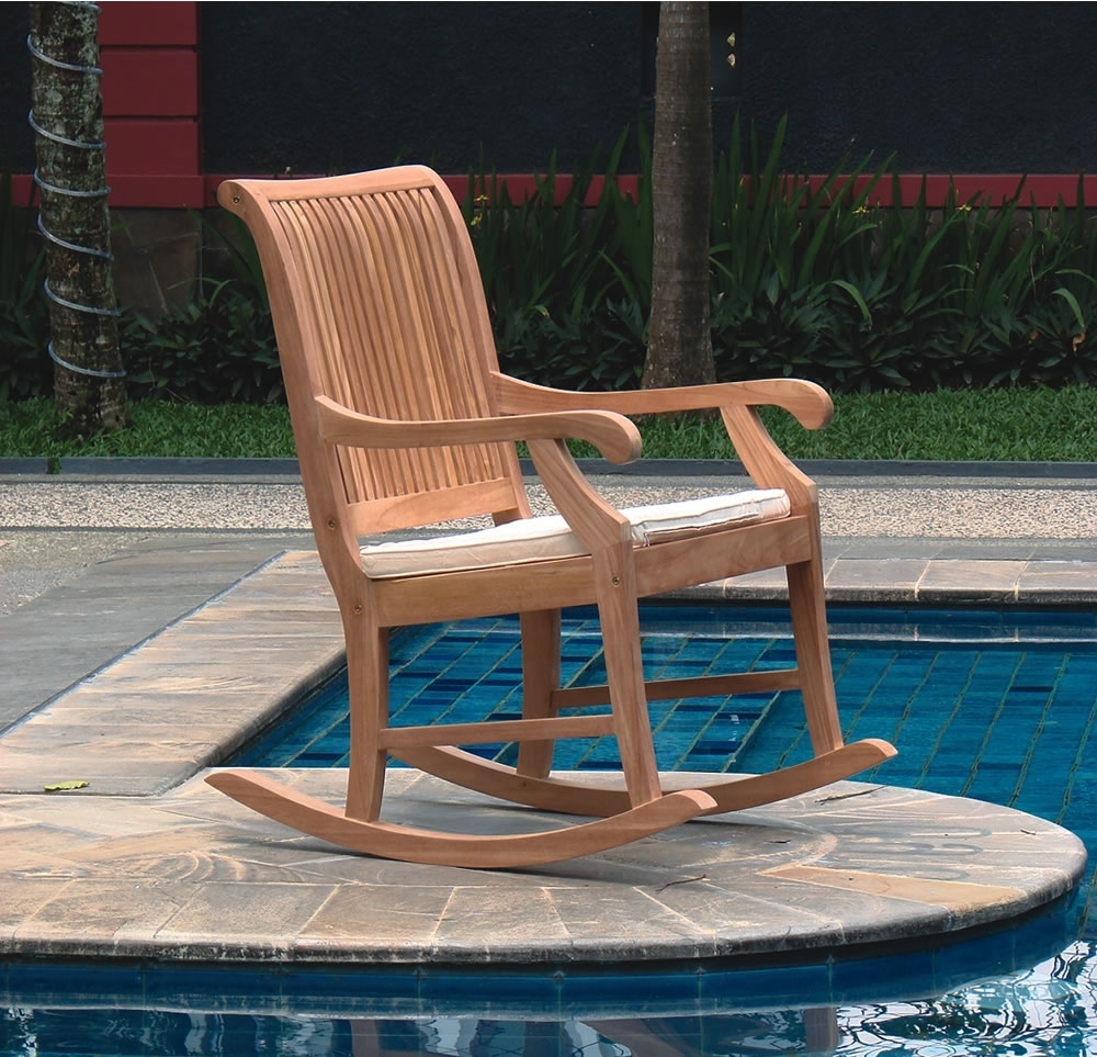 Featured Photo of Rocking Chairs For Garden