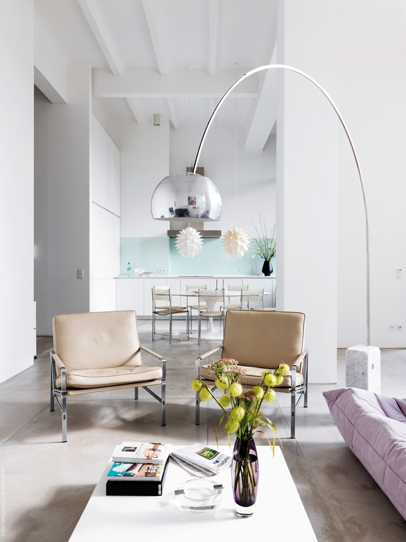 Graceful Floor Lamps For Living Room 29 Tripod Modern With White Pad With Widely Used Fancy Living Room Table Lamps (View 7 of 15)