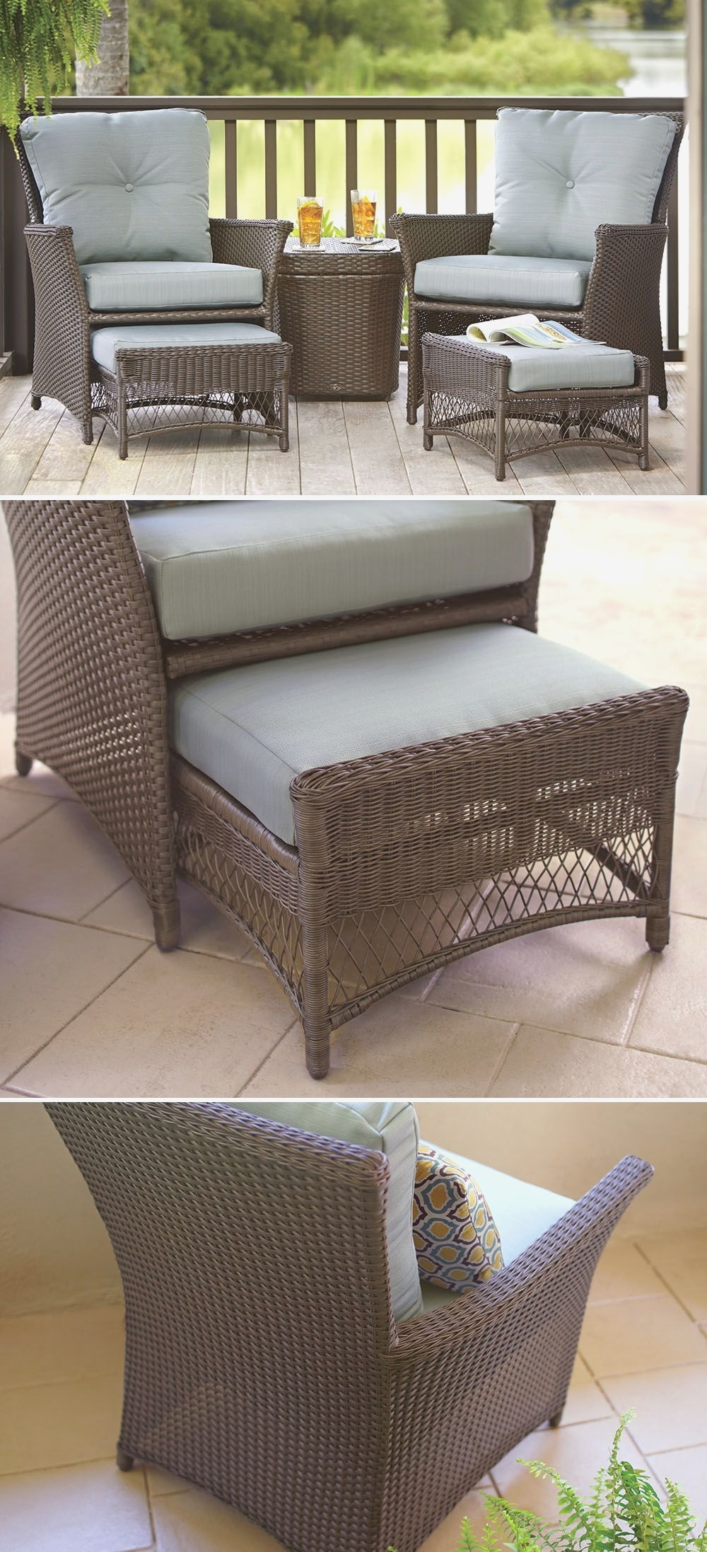 Graceful Small Outdoor Patio Set Metal Furniture Sets For Spaces With Regard To Most Recently Released Patio Conversation Sets For Small Spaces (Gallery 1 of 15)