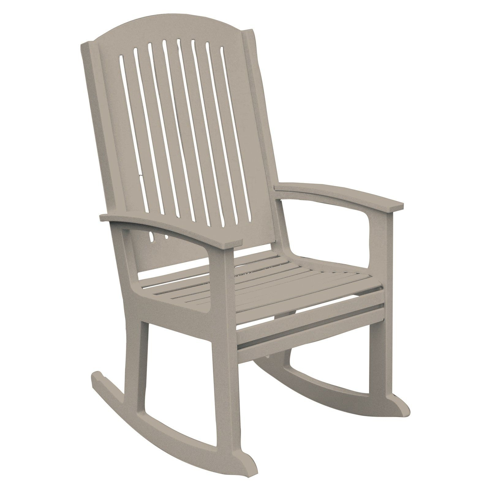 High Back Rocking Chairs Pertaining To Trendy Poly Concepts Outdoor Andureflex High Back Rocker (View 7 of 15)