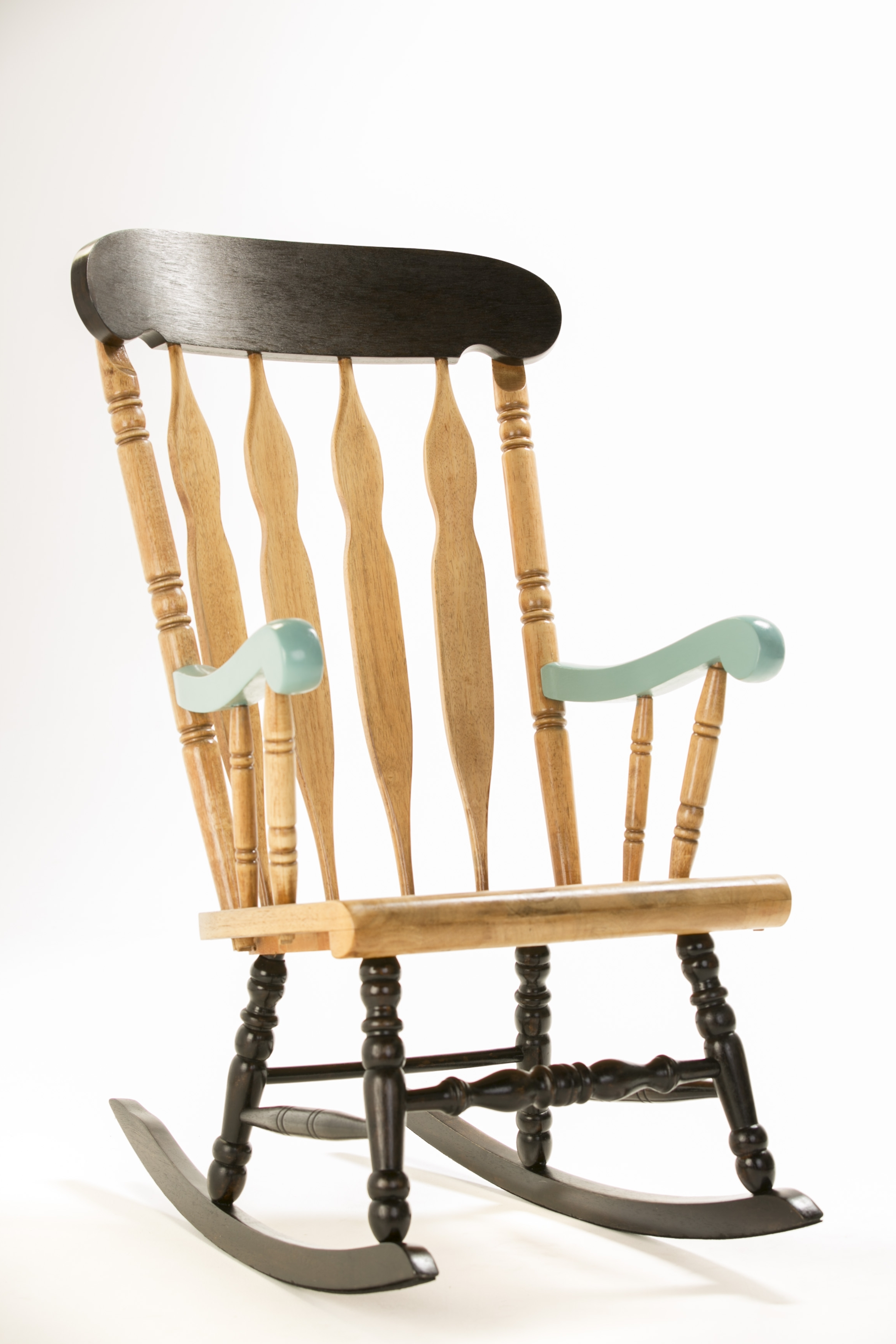 How To: Upcycle A Timber Rocking Chair – The Interiors Addict Throughout Current Upcycled Rocking Chairs (View 4 of 15)