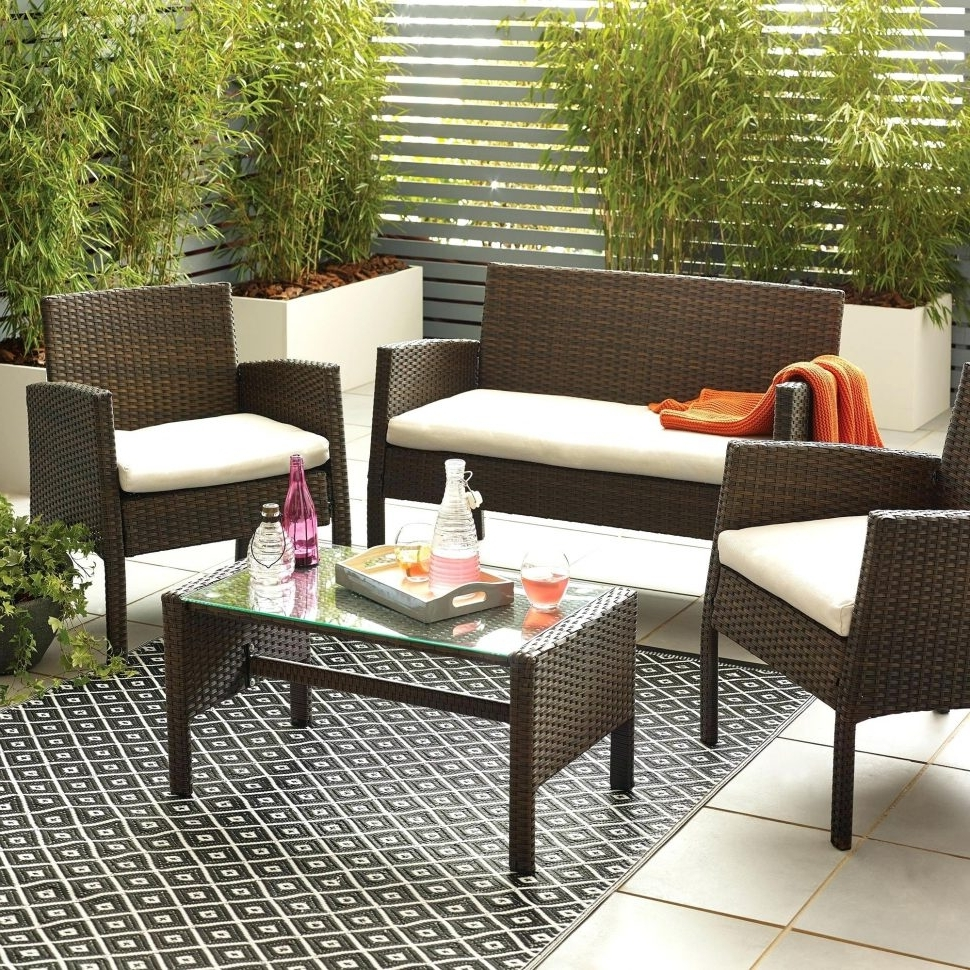 Indoor Conversation Sets Target Patio Furniture Patio Conversation With Regard To Preferred Patio Conversation Sets At Target (Gallery 3 of 15)