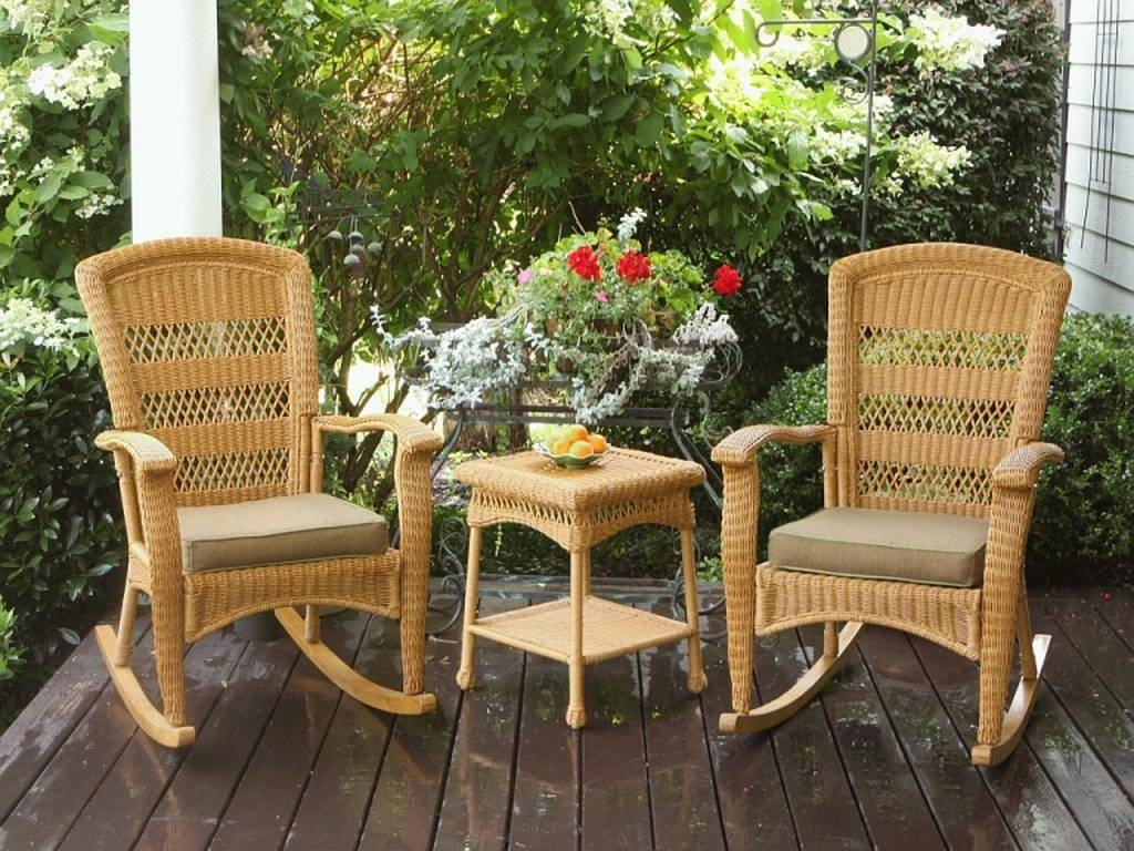 Indoor Wicker Rocking Chair – Chair And Table Ideas Throughout Most Popular Indoor Wicker Rocking Chairs (View 6 of 15)